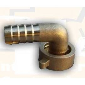 Winkelkupplung 90° Messing 3/4-Zoll