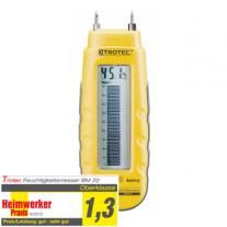 Feuchteindikator BM20 zur Messung von Feuchtigkeit in Holz
