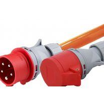 CEE32 PUR Verlängerungskabel 5x4mm²