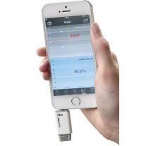 Hygrometer/Thermometer für Smartphones TFA Smarthy