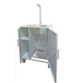 Dryfix-Mobil - Fahrgestell mit integriertem Eimer und Waage